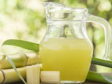 Frozen sugar cane juice